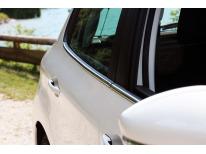 Moldura cromada de contorno inferior de los cristales Peugeot 208