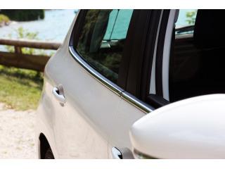 Side windows chrome trim