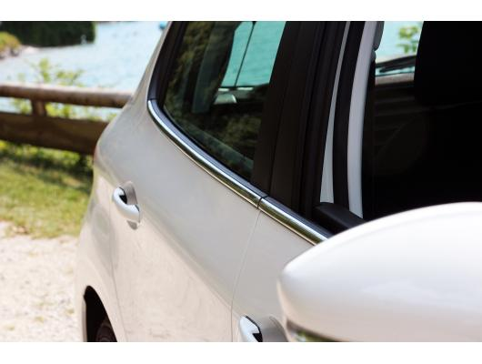 Side windows lower chrome trim Peugeot 208