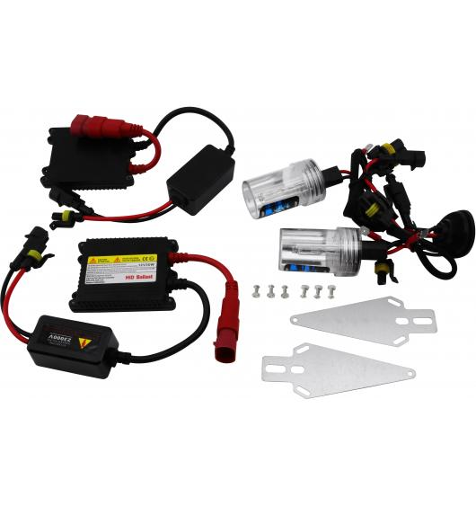 Kit xenon H4 4300k slim