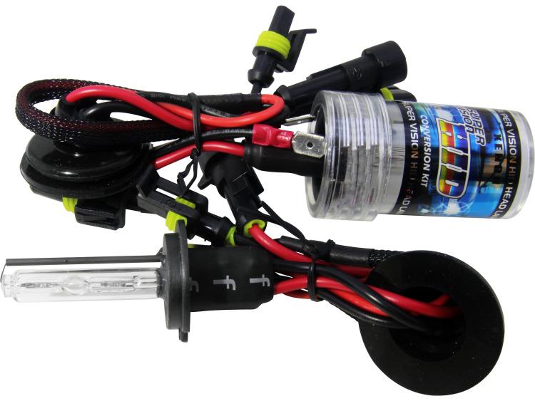 Lot de 2 ampoules xénon de rechange DC H7 5000k