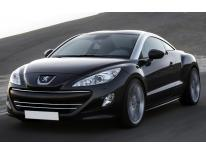 Radiator grill chrome moulding trim Peugeot RCZ 1012