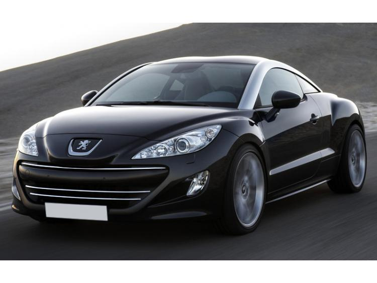 Radiator grill chrome moulding trim Peugeot RCZ 10-12