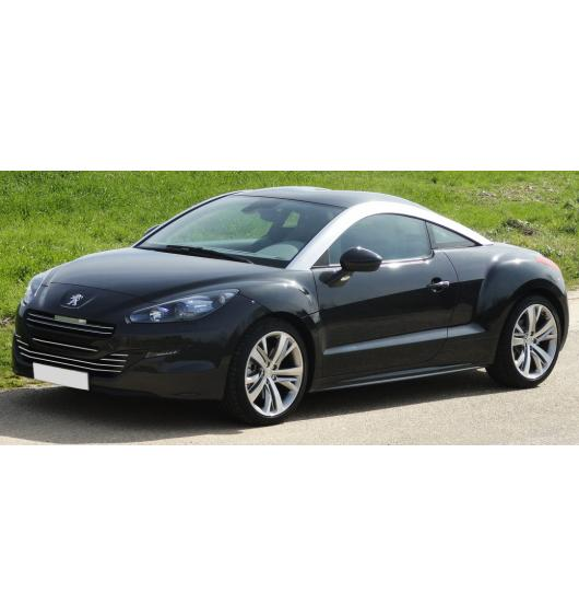 Radiator grill chrome moulding trim Peugeot RCZ 12-15 facelift