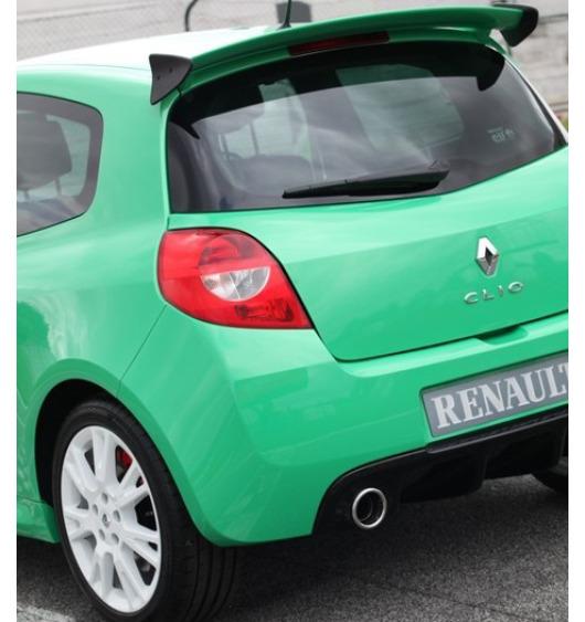 Becquet / aileron Renault Clio 3 & Renault Clio 3 phase 2