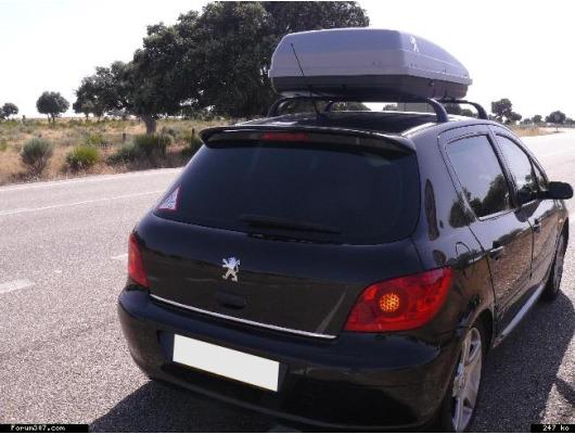 Trunk chrome trim Peugeot 106 107 108 205 206 306 307 406 407 806 807 1007 3008 4007 4008 Boxer