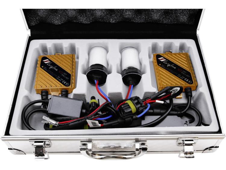 Kit xénon AC H4 6000k Luxyline v3