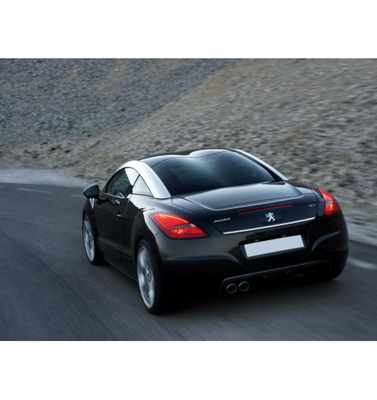 Trunk chrome trim Peugeot RCZ 10-12 & Peugeot RCZ 12-15 facelift