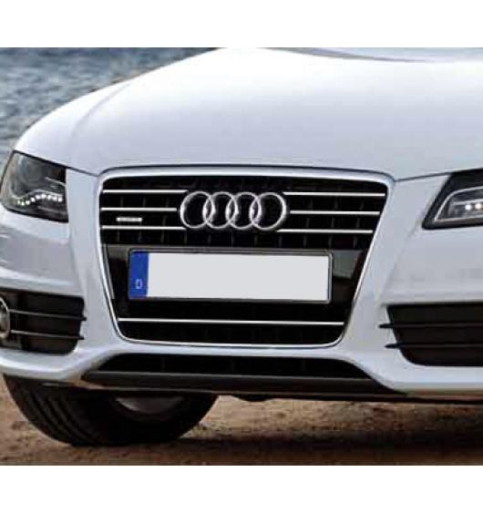 Cornice cromata griglia radiatore Audi A4 série 3 07-11 & Audi A4 série 3 avant 08-11