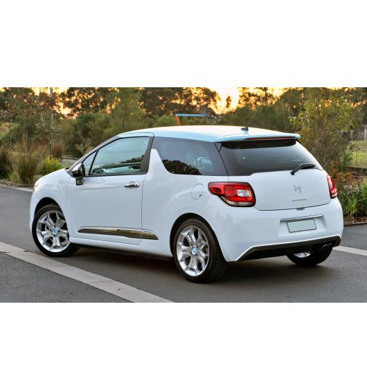 Chromzierleiste für Spoiler-Kontur Citroën DS 3