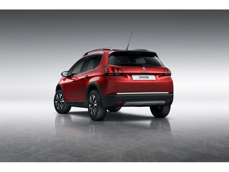 Trunk chrome trim Peugeot 2008