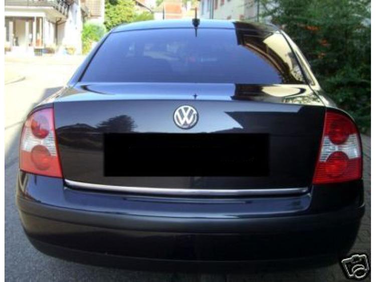 Trunk chrome trim VW Fox Golf 1 Golf 2 Golf 3 Golf 5 SW Golf 6 Plus Golf 6 SW/7/7 SW/Sportsvan/Jetta