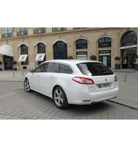 Trunk chrome trim Peugeot 508 SW