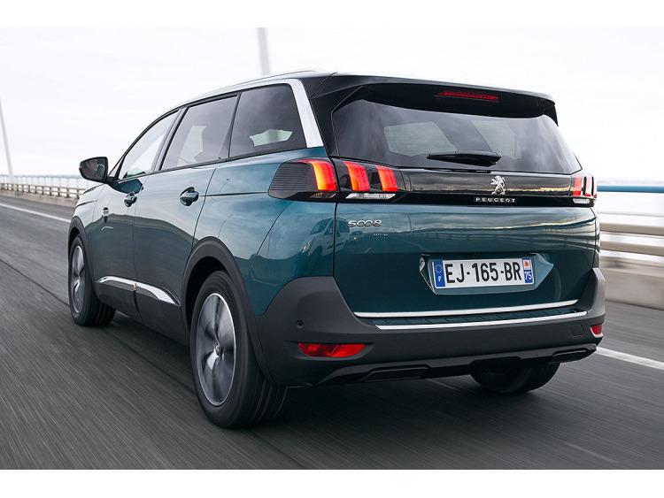 Chrom-Zierleiste für Kofferraum Peugeot 5008 II 17-21