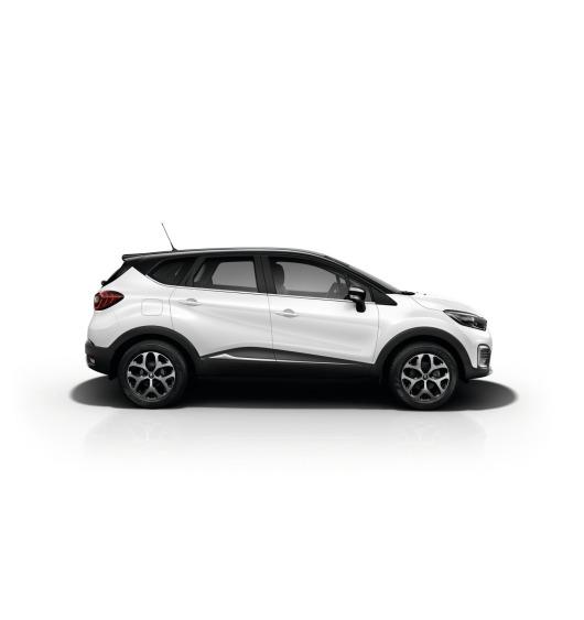 Baguette chromée de contour inférieur des vitres Renault Captur
