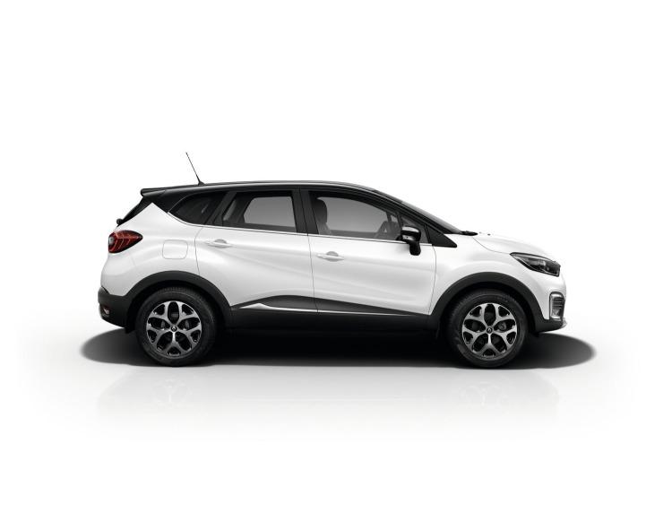 Side windows lower chrome trim Renault Captur