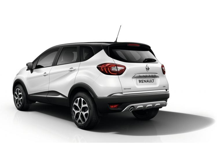 Trunk chrome trim Renault Captur