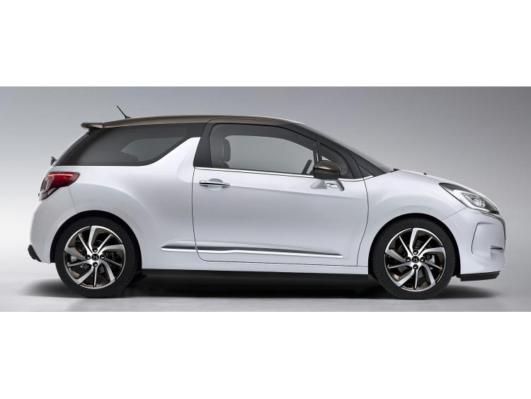 Side windows lower chrome trim DS 3