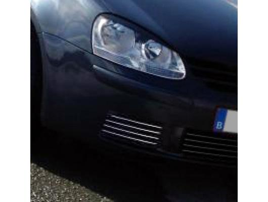 Fog lights chrome trim VW Golf 5