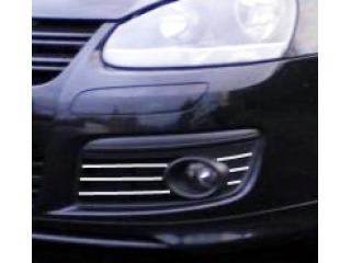 Fog lights chrome trim