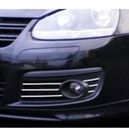 Fog lights chrome trim VW Golf 5 GT TDI