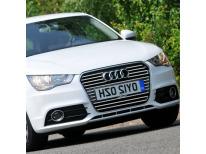 Chromleiste für Kühlergrill Audi A1