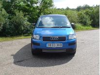 Chromleiste für Kühlergrill Audi A2