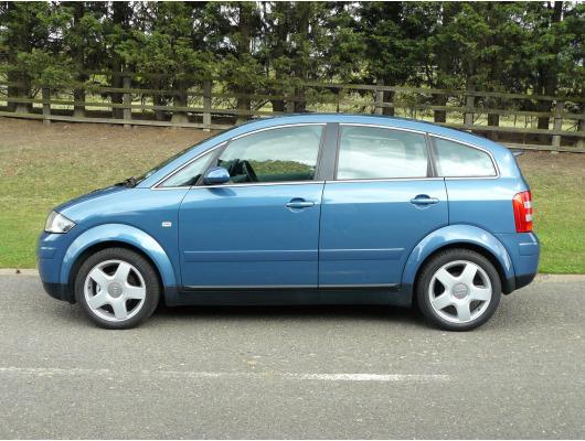 Side windows chrome trim Audi A2