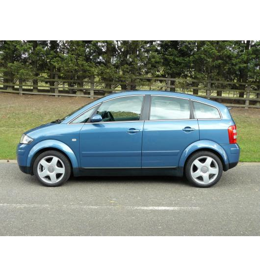 Side windows chrome trim Audi A2