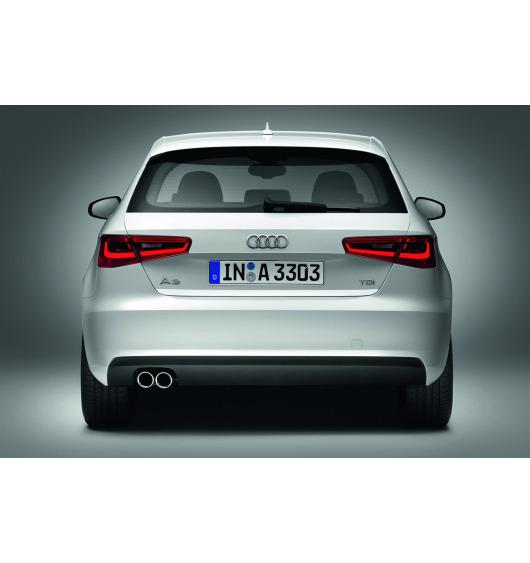 Trunk chrome trim Audi A3 Série 1 Phase 2 00-03/Série 3 Limousine 13-16/Série 3 Phase 2 16-21...