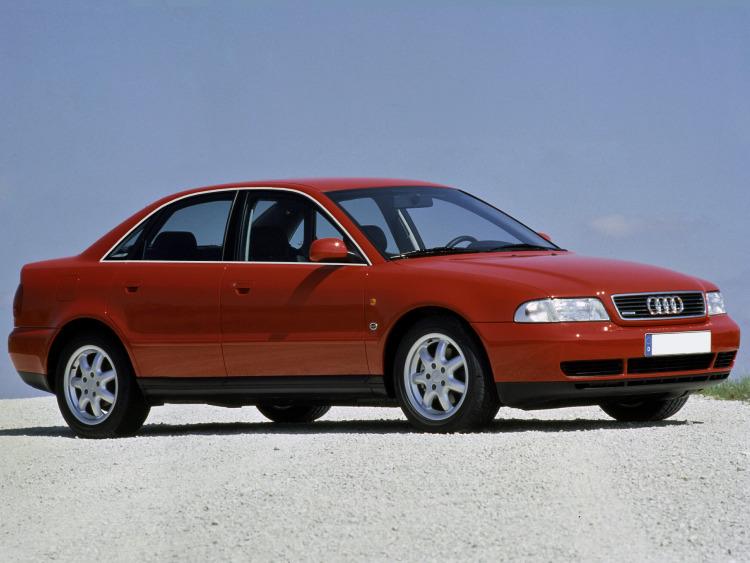 Zier-Chromleiste für seitliche Autofensterkonturen Audi A4 série 1 94-98