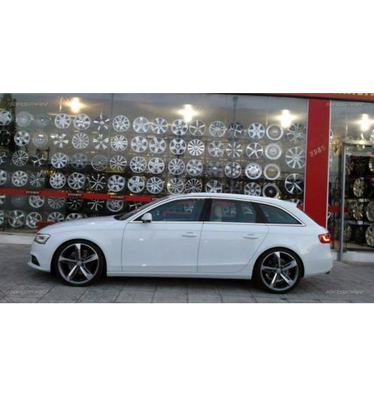 Side windows chrome trim Audi A4 série 3 avant 08-11