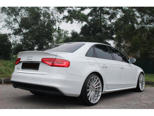 ChromZierleiste für Kofferraum Audi A4 série 3 0711