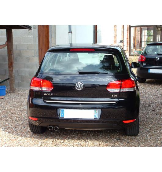 Baguette de coffre chromée VW Golf 6 & VW Golf 6 Cabriolet