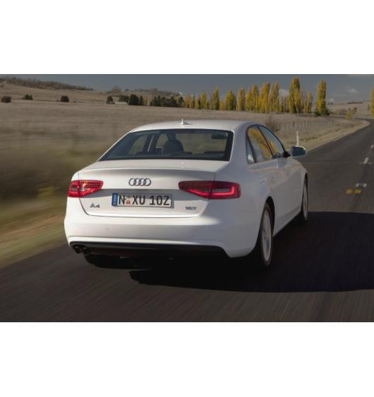Fascia per bagagliaio cromata Audi A4 série 3 phase 2 11-15