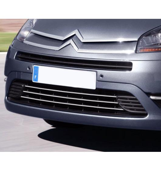 Zier-Chromleiste für Kühlergrill-Unterteil Citroën C4 Grand Picasso (06-13)