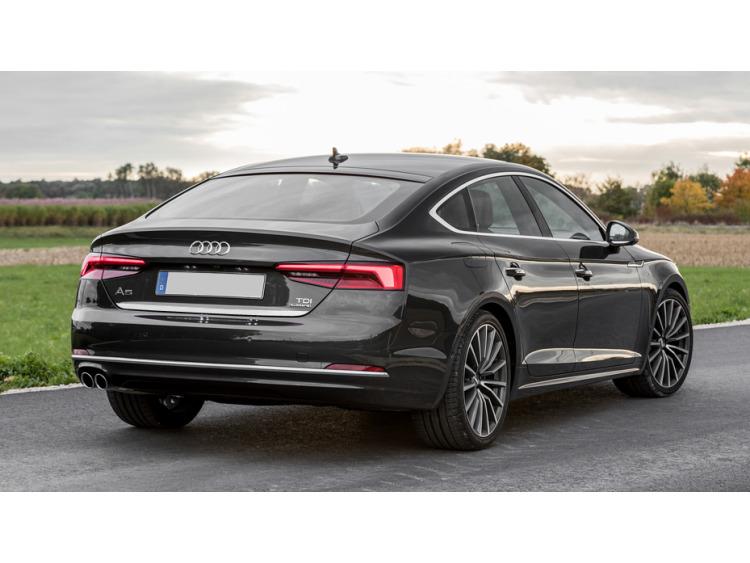 Baguette de coffre chromée Audi A5 Cabriolet II 16-21 Audi A5 II Coupé 16-21 Audi A5 II Sportback 16