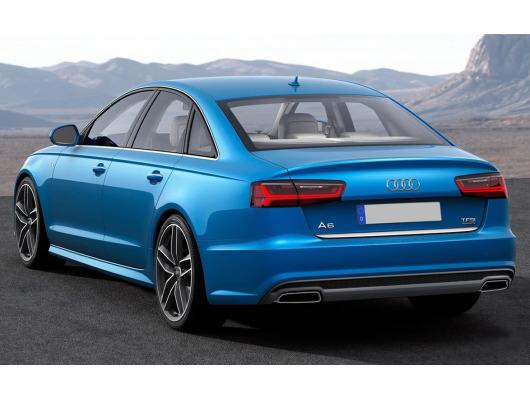 Trunk chrome trim Audi A6 Série 4 Berline 1015  Audi A6 Série 4 Phase 2 Berline 1418