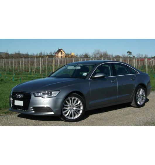 Side windows chrome trim Audi A6 Série 4 Berline 10-15 & Audi A6 Série 4 Phase 2 Berline 14-18