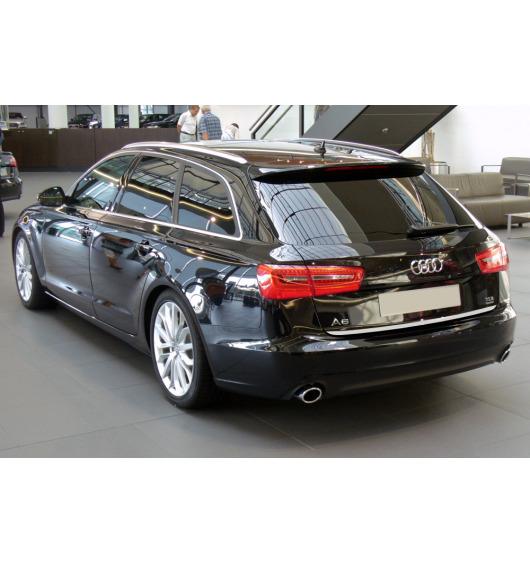 Baguette de coffre chromée Audi A6 Série 4 Avant 10-15 & Audi A6 Série 4 Phase 2 Avant 14-18