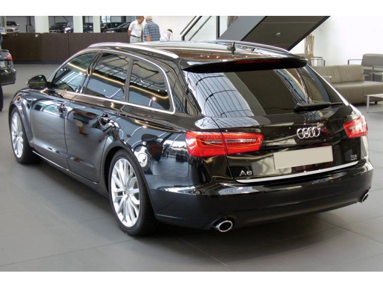 Chrom-Zierleiste für Kofferraum Audi A6 Série 4 Avant 10-15 & Audi A6 Série 4 Phase 2 Avant 14-18