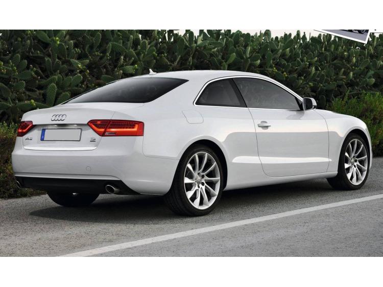 Fascia per bagagliaio cromata Audi A5 Cabriolet phase 2 11-16 Audi A5 Coupé phase 2 11-16 Audi A5 Sp