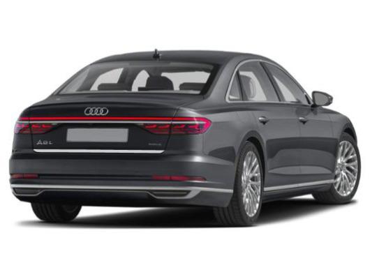 Trunk chrome trim Audi A8