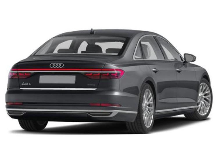 Chrom-Zierleiste für Kofferraum Audi A8