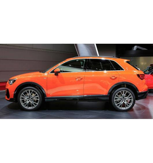 Side windows chrome trim Audi Q3