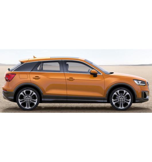 Zier-Chromleiste für seitliche Autofensterkonturen Audi Q2