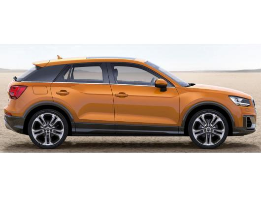 Side windows lower chrome trim Audi Q2