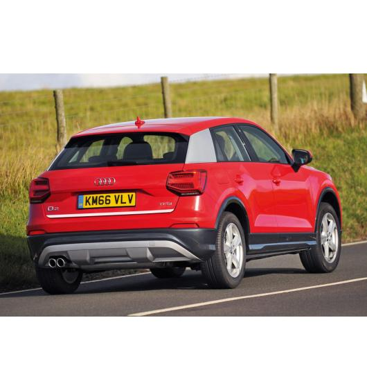 Trunk chrome trim Audi Q2