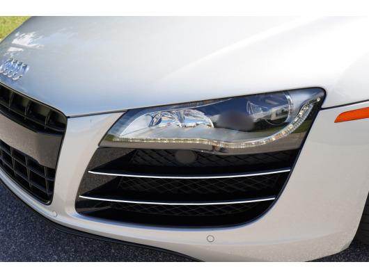 Chrome moulding trim for vents Audi R8