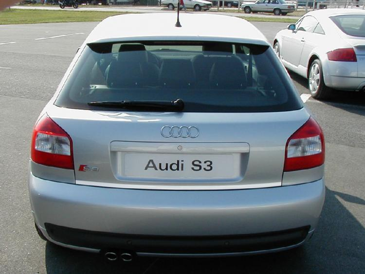 Trunk chrome trim Audi S3 98-03